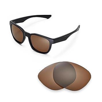 Walleva Ersatzgläser für Oakley TwoFace Sonnenbrille - Mehrfache Optionen (Titanium Mirror Coated - Polarisiert) urRZd