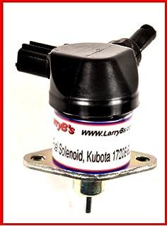 Amazon fuel shutdown solenoid 1502 12c2u1b1s1 12 volt dc fuel shutdown solenoid kubota 17208 60016 17208 60017 17208 60015 sciox Gallery