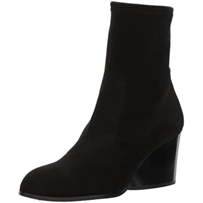 Donald J Pliner Women's Pandra Fashion Boot, Black Suede, 5.5 M US | Mid-Calf