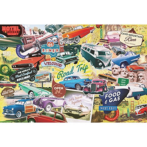 The Great American Road Trip 1,000 Piece Jigsaw Puzzle by Paradox Puzzle Company