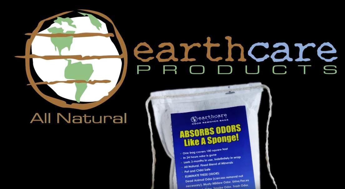 Earth Care Odor Removing Bag Stinky Smells Pet odor etc (1 Pack)
