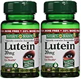 Nature's Bounty Lutein 20 mg 40 Softgels (Pack of 2)