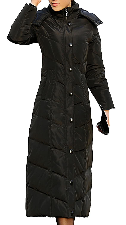 427090c5283 Scothen Ladies Winter Coat Warm Long Coat Winter Autumn Down Jacket Elegant  Waterproof Parka Winter Parka Hooded Reduced Hooded Windproof Pocket  Drawstring ...