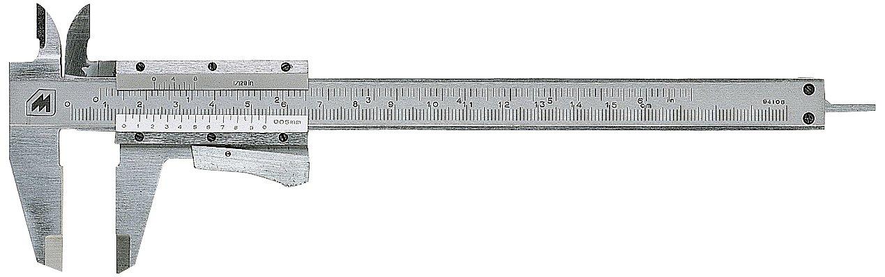 Metrica 10031 Pied à coulisse chromé 200 mm