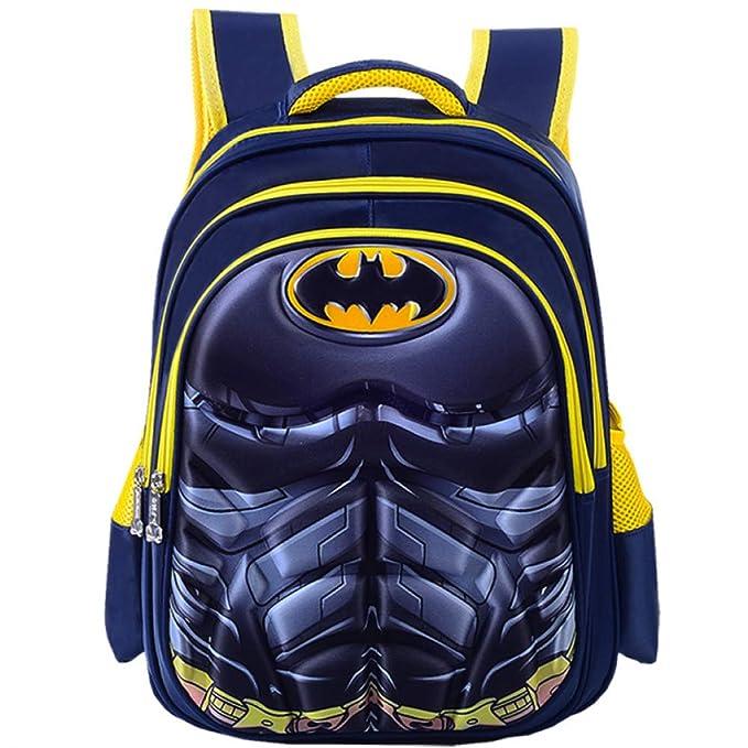 Mochila Escolar Para Niños Mochilas Para Adolescentes Para Niños Y Niñas Mochilas Escolares,Batman-
