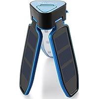 Zanflare 18 LED USB Rechargeable & Solar Powered Lantern Camping Hiking Fishing (Blue)
