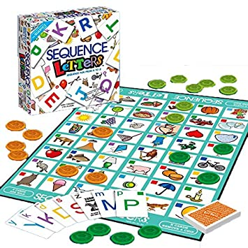 Buy Kitikittz Seqvance Letters Fun Form A To Z Educational Learning Game For Your Child Hccd Enterprise Online At Low Prices In India Amazon In