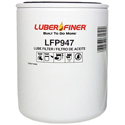 Luber-finer LFP947 Heavy Duty Oil Filter, 1 Pack: Automotive