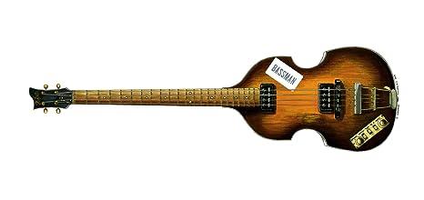 De Paul McCartney 1963 Hofner 500/1 Beatle Bass con Bassman etiqueta tarjeta de felicitación