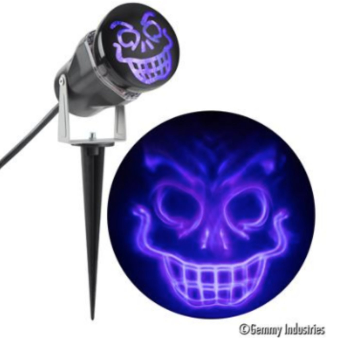 Light Show Projection Ghost Flame for Halloween, Parties, Expo, Events, Outdoor and Shows (1 Pack)