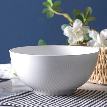 MXJ61 Horno de Horno de Microondas Blanco Puro Horno de Rice Bowl Soup Bowl Soup Basin