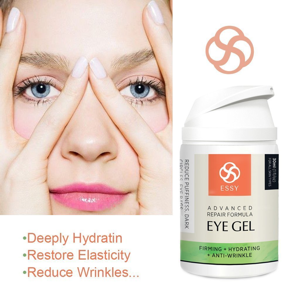 Essy Beauty Natural Eye Gel for Wrinkles, Fine Lines, Dark Circles, Puffiness & Bag (white) Darphin - Thermo Amino Peel - 200ml/7oz