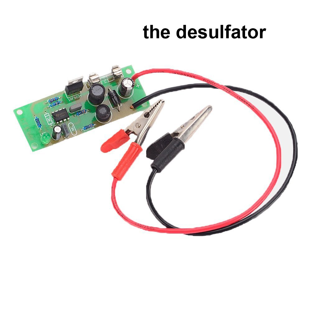 12v Lead Acid Battery Charger For Sla Agm Gel Vrla Circuit With Monitor Meter Function Charge Mode 4 Stages Mcu Control Desulfator Automotive