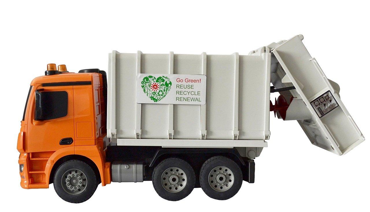 Ferngesteuerter RC Müllwagen Mercedes Benz mit Sound und Funktion inkl AKKU NEU Elektrisches Spielzeug
