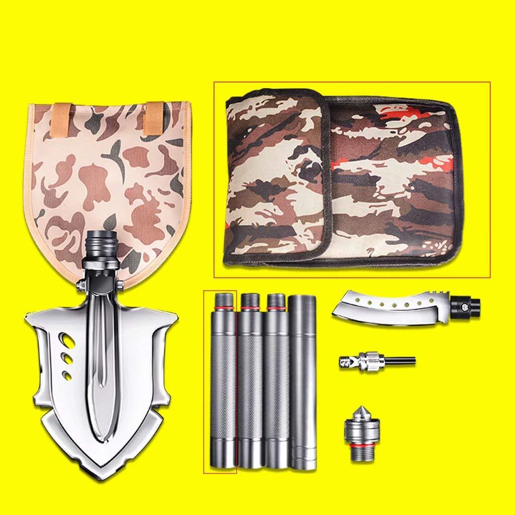 Cz-shovels L'ingegnere Pala all'aperto Multiuso Militare Manganese Pieghevole in Acciaio Pala da Campeggio Avventura Pesca