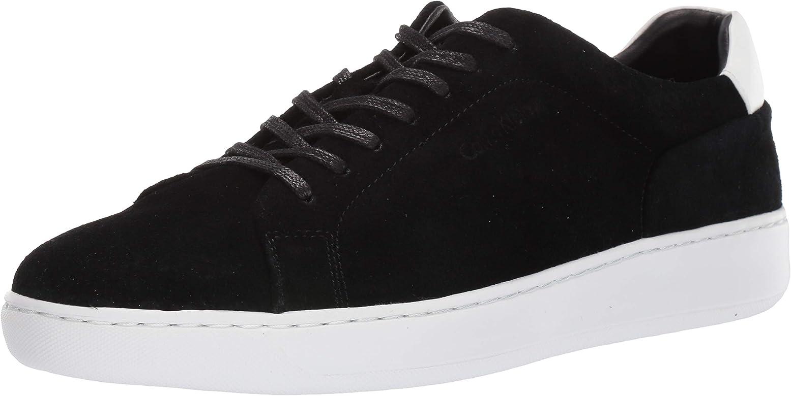 Calvin Klein Men's Fuego Sneaker, Black