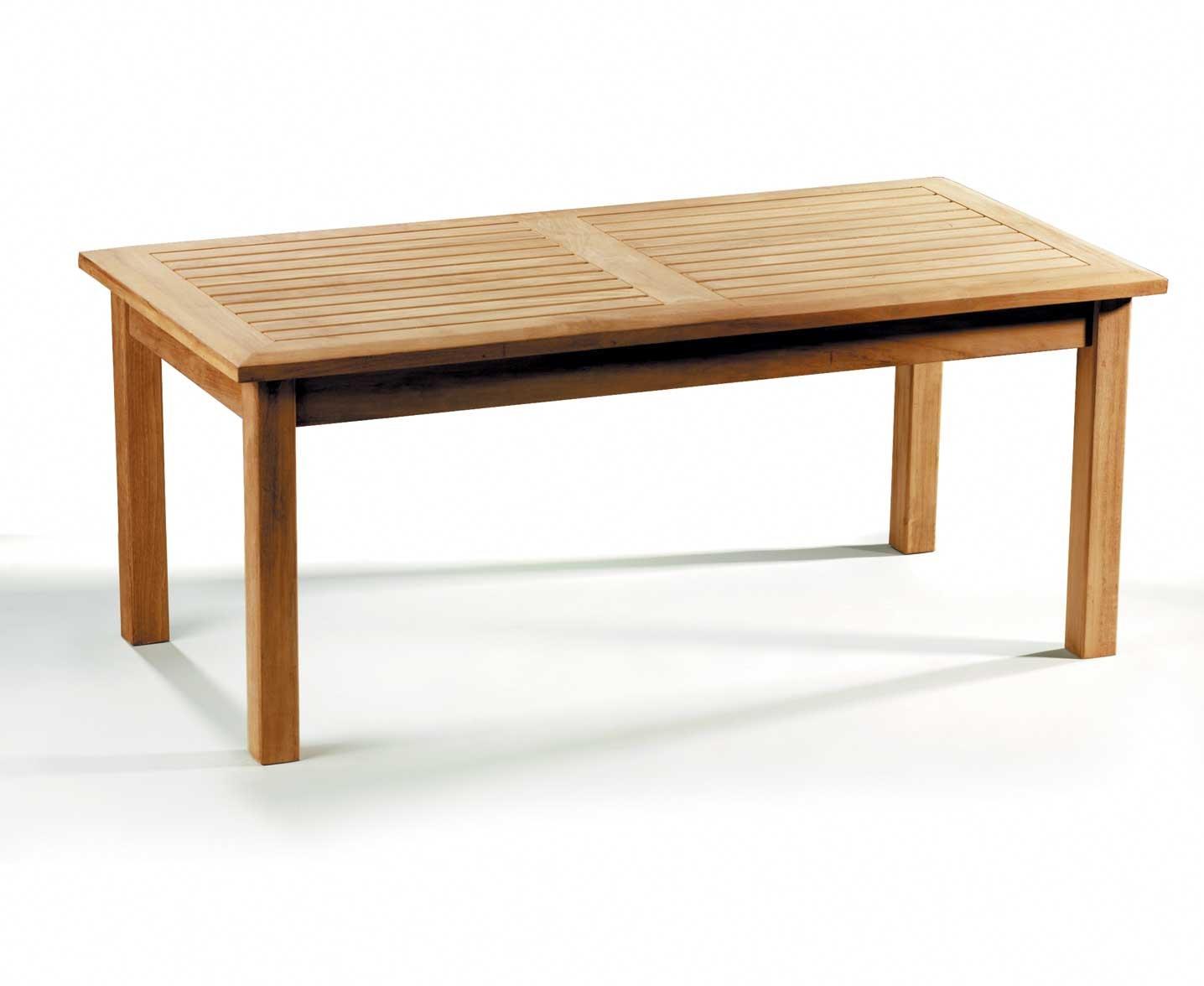 Jati Teak Rectangular Garden Coffee Table 120 x 60cm Brand, Quality & Value