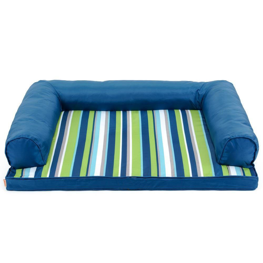 12089cm Weiwei Dog bed Removable and washable striped pet nest full pet bed sofa Large dog kennel dog bed Oxford cloth