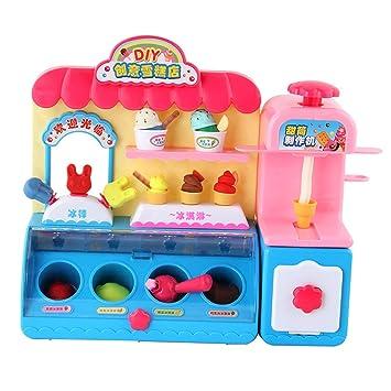 Amazon.es: B Blesiya Juego de Simulación de Helados Eléctricos Juguete Educativo para Niños Bebé: Juguetes y juegos