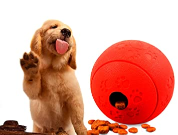 ChicDog Juguetes para Gatos, Juguetes interactivos para Perro, Juguete dispensador de Perros, Juguetes para Perros pequeños y Gatos DE 8,9 cm de diámetro: ...