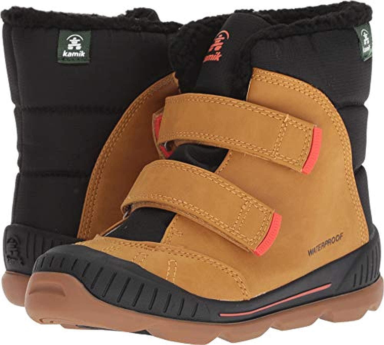 Kamik Toddlers Parker2 Snow Boots /& Drying Towel Bundle