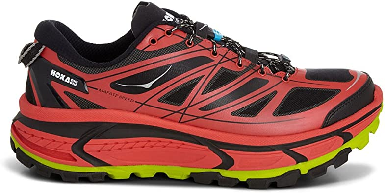 Hoka Mafate Speed Zapatilla de Trail Running Caballero, Rojo ...