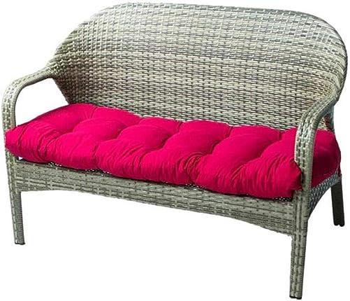 Indoor/Outdoor Bench Cushion Cotton Garden Furniture Loveseat Cushion