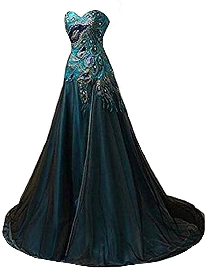 Peacock Ball Gown