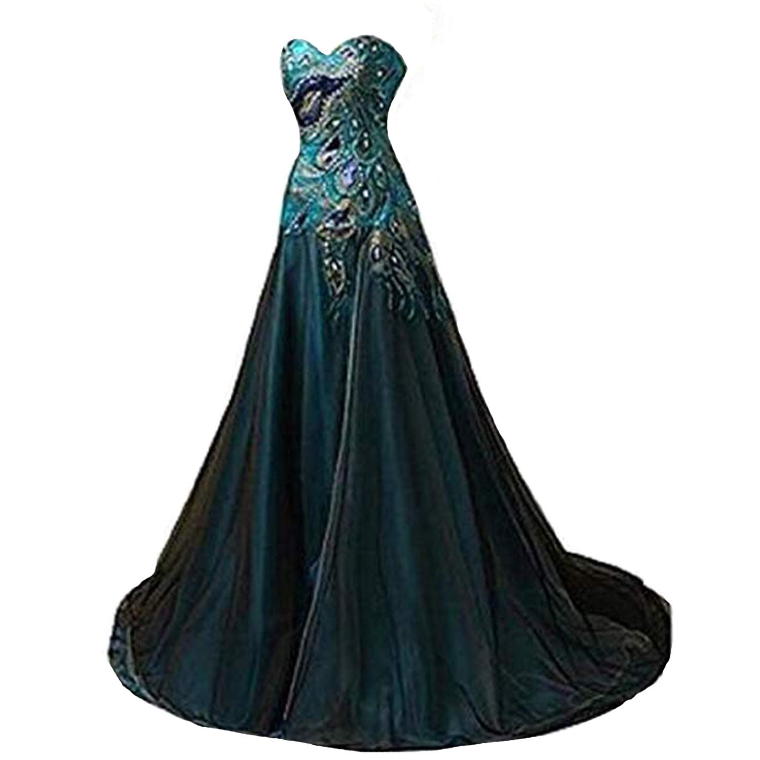 99715df9cb New Peacock Long Dress Popular Evening Dress for Women Party 2015 at Amazon  Women s Clothing store