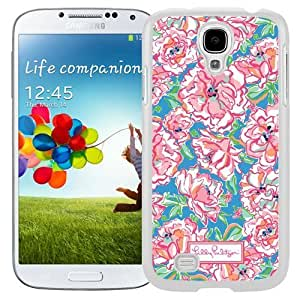Personalized Lilly Pulitzer 01 Galaxy S4 Generation Phone Case in White