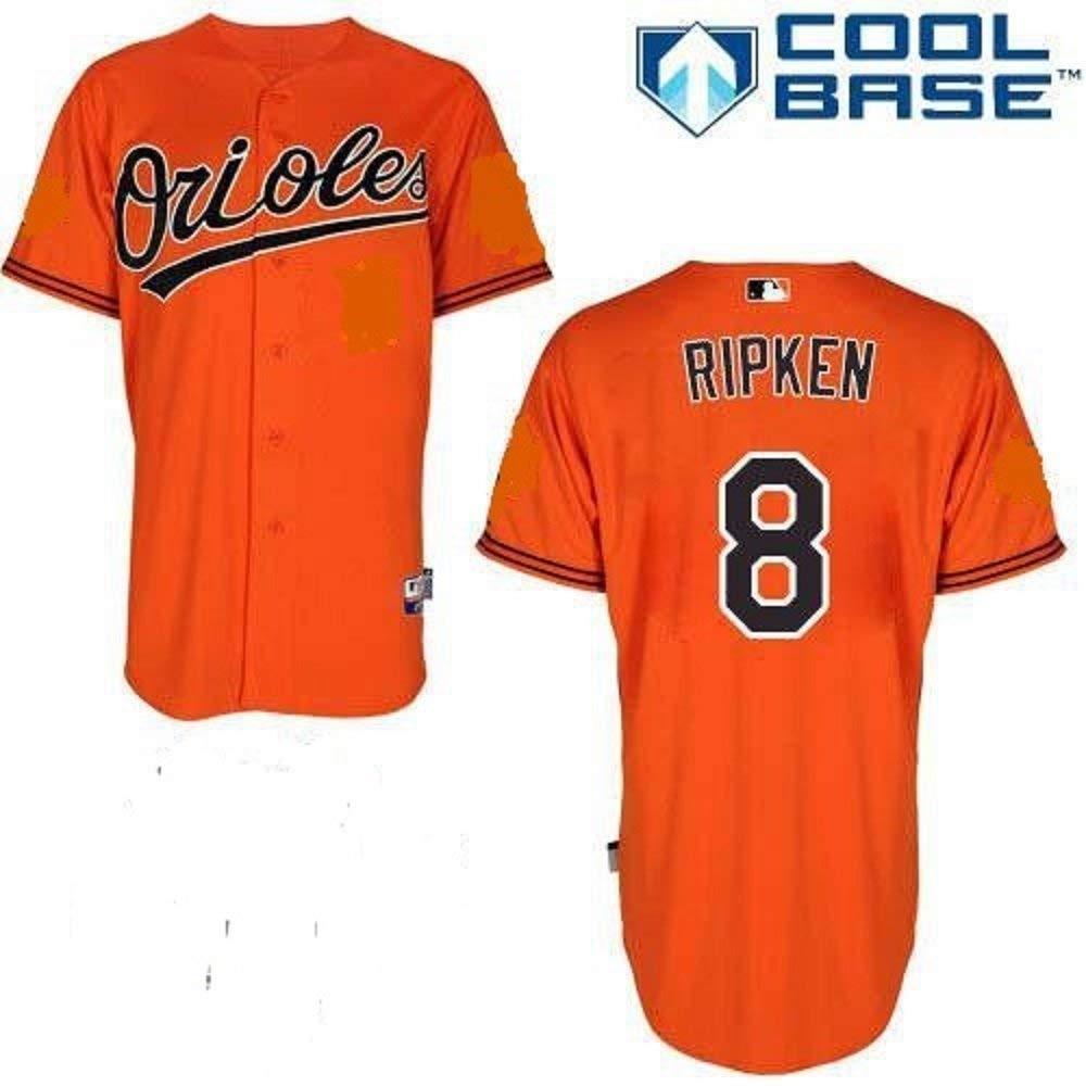 acc334a13 Amazon.com  Majestic Cal Ripken Jr. Baltimore Orioles MLB Youth Orange  Alternate Replica Jersey (Youth Medium 10-12)  Clothing