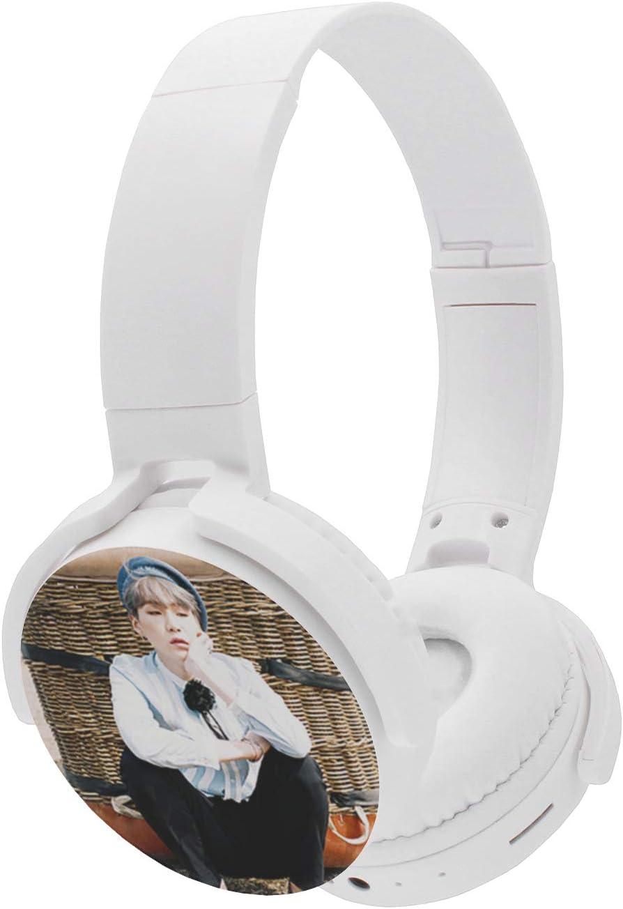 Fanstown BTS Bangtan Boys Kpop Headphone Earphone Heatset Bluetooth Wireless Hi-Fi Stereo Wired Wireless Young Foreve with Pendant