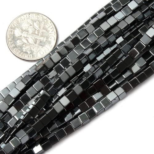Hematite,15 inch full strand Hematite faceted square beads,cube beads,6x6mm,color for Choice