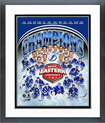 - Tampa Bay Lightning 2015 NHL Eastern Conference Champions Team Photo (Size: 12.5