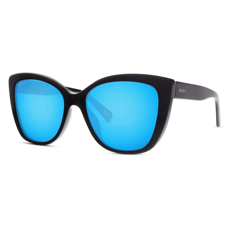 3e34b6d342b Amazon.com  DIFF Eyewear  Ruby - Designer Cat Eye Sunglasses- 100% UVA UVB   Clothing