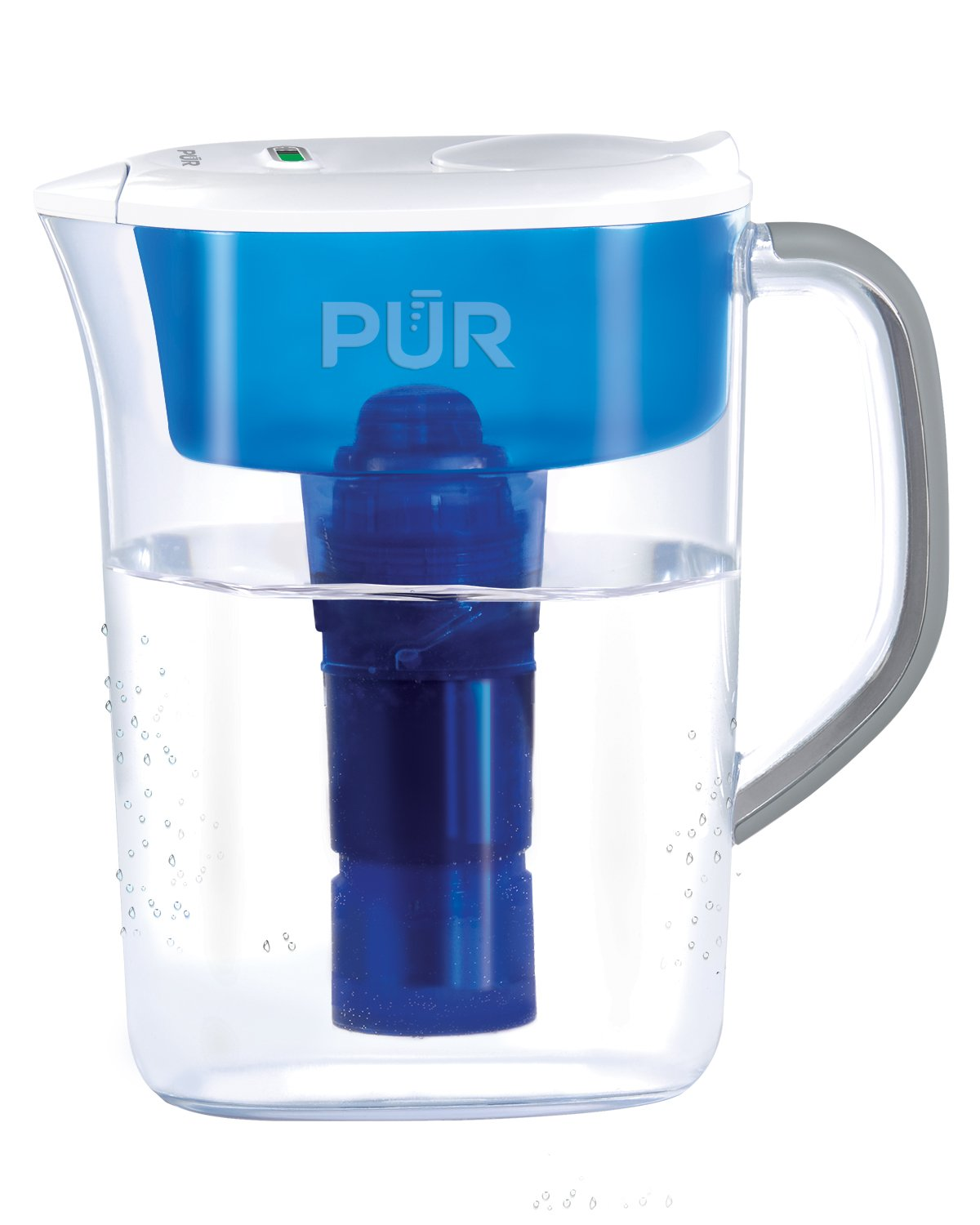 PUR 7 Cup Ultimate Water Filtration Pitcher with LED Indicator, Clear PPT710WAMV1