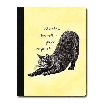 Cuaderno de notas para gato de yoga sin árboles, 140 páginas ...