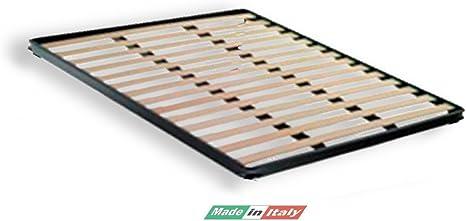 Helix-Somier Con Patas de Madera de Abedul Forma de Pie Sin Colchón Para Cama de Matrimonio, 160 x 190 h4