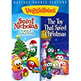 DVD-Veggie Tales: Saint Nicolas/Toy That Saved Christmas Double Feature