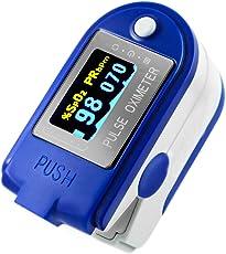 Sonolife LiveSmart Plus CMS-50D Oximetro de Pulso Monitor de Oxigenación Sanguínea SpO2