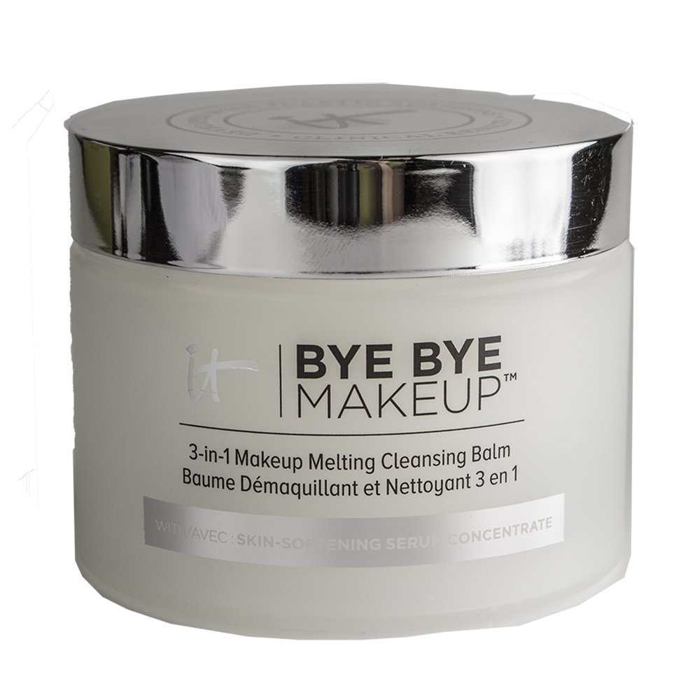 IT Cosmetics Bye Bye Makeup 3-in-1 Makeup Melting Cleansing Balm, 2.82