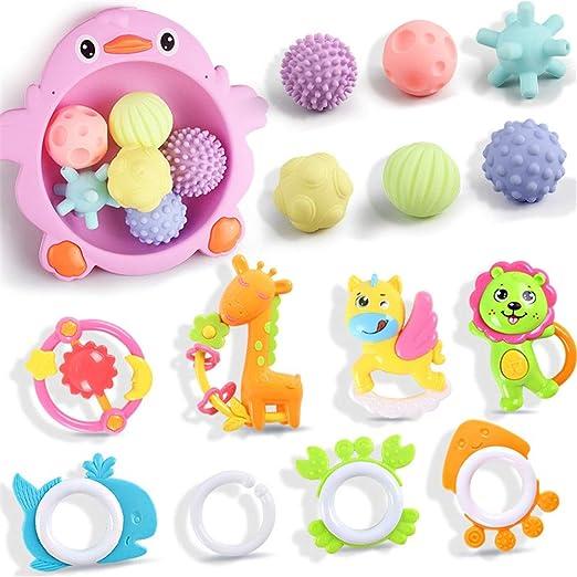Pelotas para Bebés Mano del bebé bola del apretón de la bola del ...