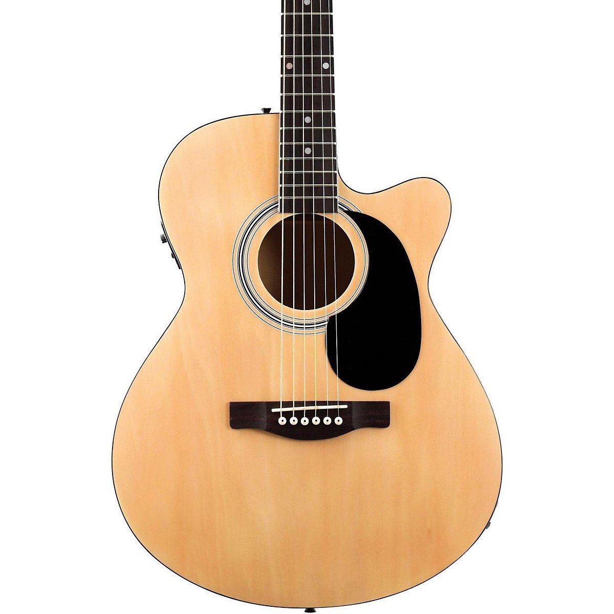 Fender FA135CE Concert Acoustic-Electric Guitar Natural