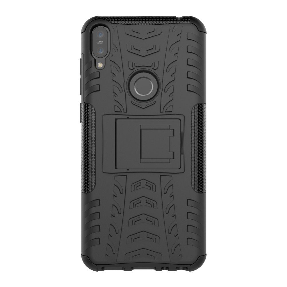 Zenfone Max Pro (M1) ZB601KL 5.99 Inch Cover Hybrid DWaybox Rugged Heavy Duty Armor Hard Back Cover Case with Kickstand for ASUS Zenfone Max Pro (M1) ...