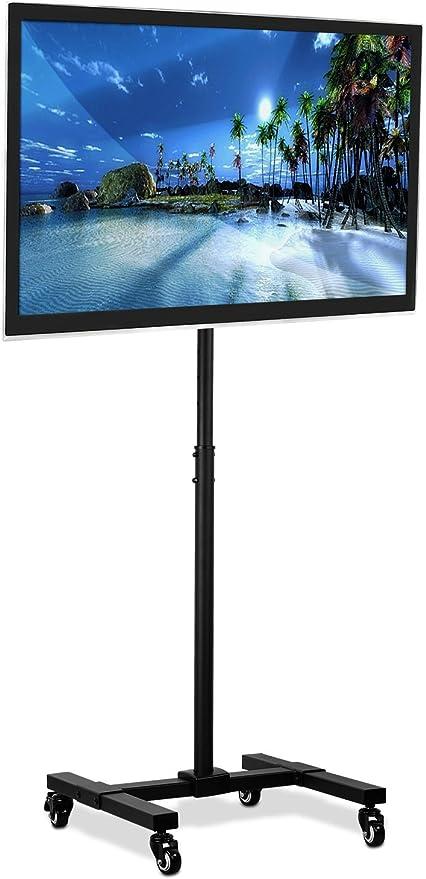 Mount-It. TV televisor portátil soporte de suelo para pantalla para pantallas LCD LED 13