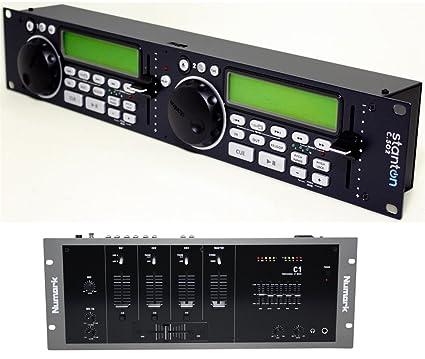 Amazon com: Package: Stanton C 502 rack mount dual DJ CD