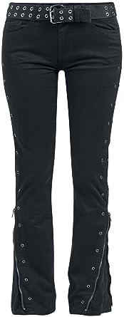 Skarlett Girl-Hose schwarz/rot Black Premium by EMP y0nkuk