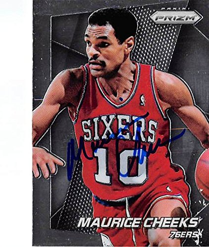 c4e054e1f9e1 Image Unavailable. Image not available for. Color  Maurice Cheeks  autographed basketball ...