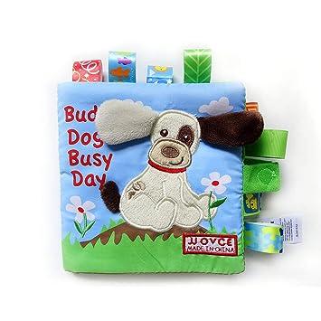 FancyswES8eety Intelectual Bebé Libros Juguetes Niñas Niños ...
