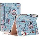 Apple iPad Pro 10.5 Case - ProCase Stand Folio Case Cover for Apple iPad Pro 10.5 Inch 2017, with Multiple Viewing Angles, Document Card Pocket (Native)